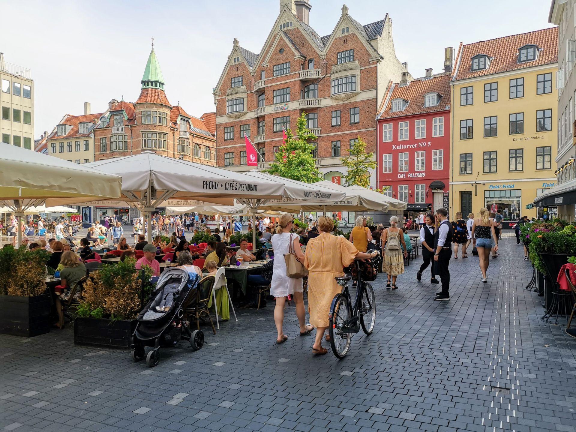 Ресторант в датски град