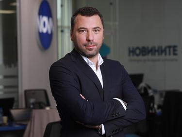 Константин Караджов става изпълнителен продуцент на новинарския канал NOVA NEWS