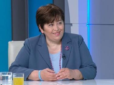 Министърът на туризма в служебното правителство Стела Балтова е с COVID-19