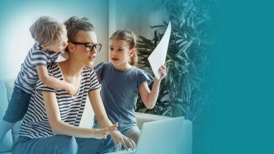 Справяте ли се с ангажиментите с децата си, когато ходите на работа?
