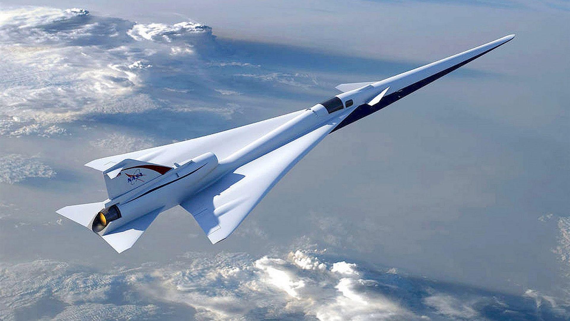 Безшумният X-59 Quiet SuperSonic